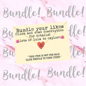 Create a Bundle! (Lots of Lula!) 🛍